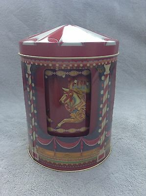Carousel Musical Tin. Music Tin. Collectable Tin. Fairground Tin.