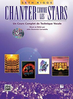 "Chanter Comme Les Stars + 2 CDs ([""Alfred Publishing"",""Seth Riggs""]) 