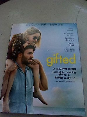 Gifted (2017)--DVD Only***PLEASE READ FULL LISTING***