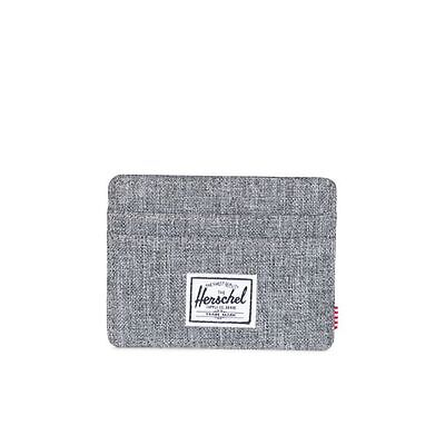 Herschel Supply Co. Charlie Wallet in Raven Hatch NWT Free shipping