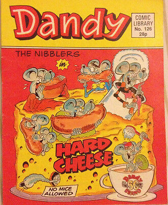 Dandy Comic Library 126 The Nibblers in Hard Cheese