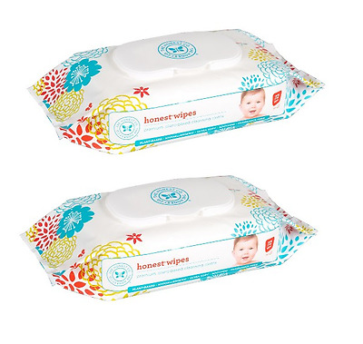 The Honest Company Baby Wipes 2 Packs of 72 Ct (144 Wipes) Expires 12/5/2018+