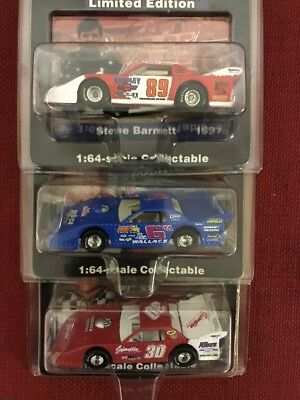 Lot (3) 1:64 Action Dirt Super Late Model Diecast Cars #18