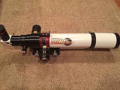 Top of the Line:  LUNT SOLAR 80MM H-ALPHA PRESSURE TUNED TELESCOPE