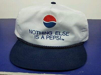 Pepsi snapback hat nothing else is a Pepsi adjustable