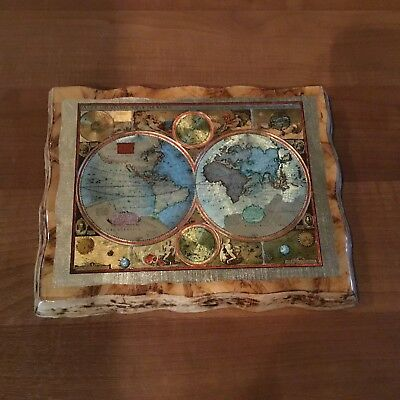 A New and Accvrat Map of the World By John Speed 1626