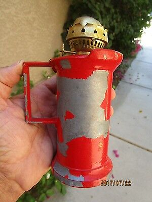 "Vintage-German ""Nicht Lebensmittel Echt"" Metal Oil Lamp/Lantern-No Chimney"
