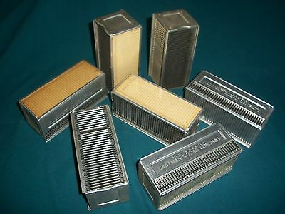 Vintage Lot of 7 Kodak Slide Magazines for Automatic Changer – No Boxes