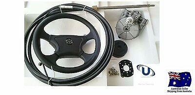Boat Steering Kit 16FT (4.87metre) Cable Teleflex Ultraflex Compatible Multiflex