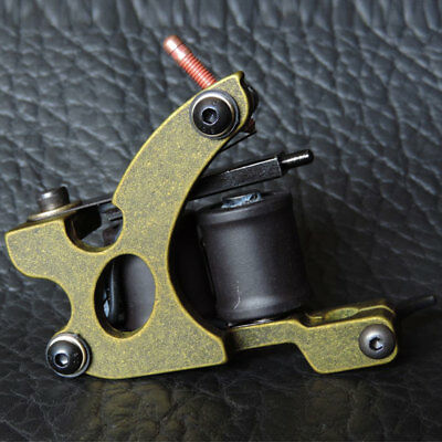 10 Wrap bobinas acero Bronce Fundicion Liner Tattoo Machine Gun