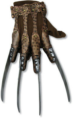 Freddy Krueger Deluxe Nightmare On Elm St Adult Glove Halloween Costume Accesory