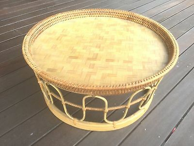 Cane Serving Tray Butlers Tray Great Condition ....