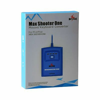 Mayflash Max Shooter ONE Mouse Keyboard Converter for PS3 PS4 Xbox 360 Xbox O...
