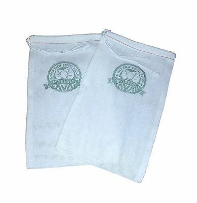 Reusable Cold Brew Coffee Filter Pouches (2-pack) from Madesco Specially Desi...