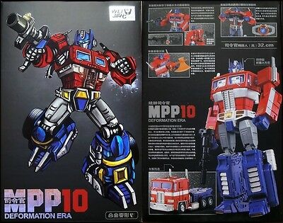 Black MPP10B MPP10-B WEIJIANG Transformers Optimus Prime Deformation Era Ver