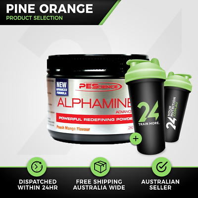 Alphamine Advanced Physique Enhancing Science | 42 Srv Pine Orange | Free Gift!