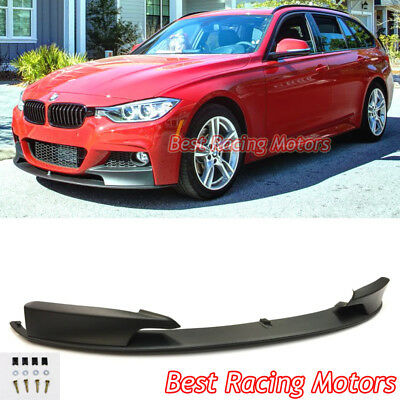 Performance Style Front Bumper Lip (PP) Fits 12-18 BMW F30 F31 F35 3-Series 4dr