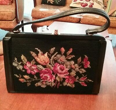 1950s tapestry bag.Excellent condition.