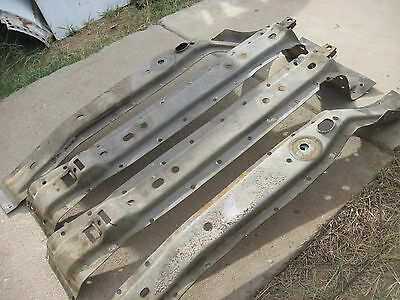 ☛100 Point Correct☚68-72 Chevelle,Cutlass,Lemans★Original Trunk Floor Braces★WOW