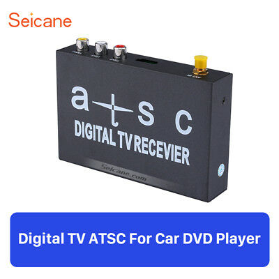 Car ATSC Digital TV Receiver DTV Radio Antenna Signal Amplifier For DVD Player