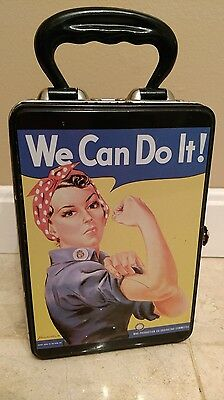 VINTAGE! ROSIE the RIVETER Snackbox Lunch Box