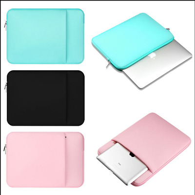 Notebook Laptop Sleeve Case Bag Cover For MacBook Air/Pro 11/13/14/15 inch PC