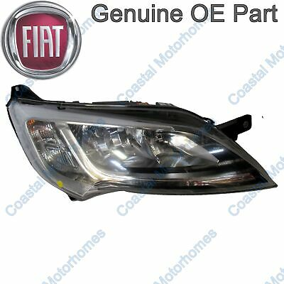 Fiat Ducato Peugeot Boxer Citroen Relay Right Headlight Silver Without DRL OE