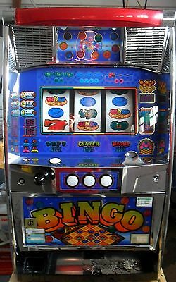 Pachislo Super Bingo Slot Machine / 200 Tokens / 285 Page Manual