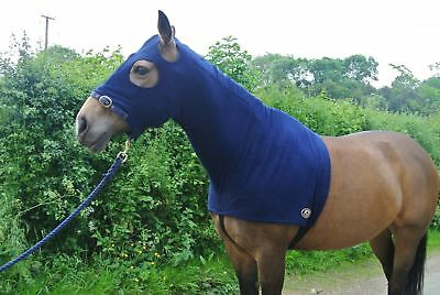 Fleece Horse Hood With Or Without Ears