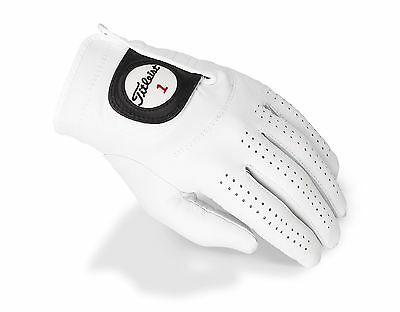 Titleist Players Glove Tanned Cabretta Leather Womens Large 6628E