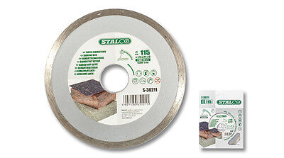 Tile Cutting Diamond Disc 115mm x 2mm x 22mm Continuous Rim Blade Angle Grinder