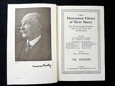 The Masterpiece Library Of Short Stories~English~Volumes Vii & Viii