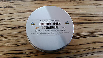 Butcher Block Conditioner mineral oil organic beeswax waterproof chopping board