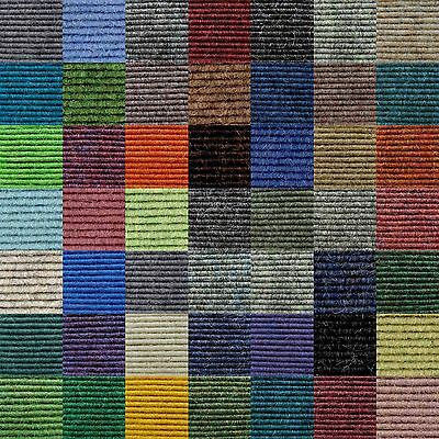 Tretford Eco Carpet Tiles, Cashmere goat fibres, 50 x 50 cm, Various Colours