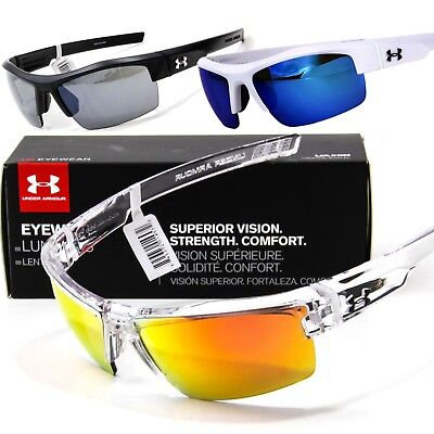 NEW UNDER ARMOUR IGNITER SUNGLASSES Choose Black / Blue / Clear UA Sport