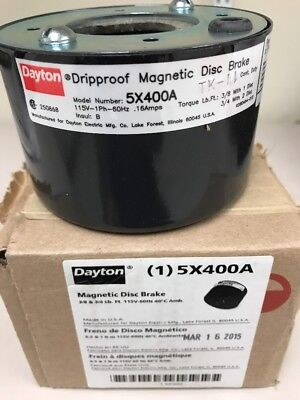 Dayton Magnetic Disk Brake 5X400A- NEW IN BOX
