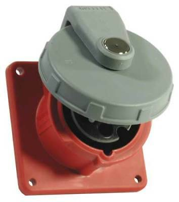 HUBBELL WIRING DEVICE-KELLEMS HBL3100R7W Pin and Sleeve Receptacle,100A,480V