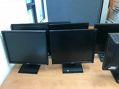 Acer V173 Black Used With all Cables fully working
