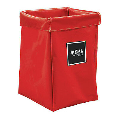 X-Frame Bag,6 Bushel,Red Vinyl ROYAL BASKET TRUCK G06-RRX-XBN