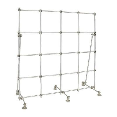 Lab Frame Kit, Stainless Steel,48x48 In