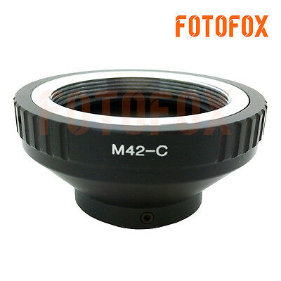 M42-C Lens Adapter Ring For M42 Screw Mount To 16mm C Mount Film Movie Camera