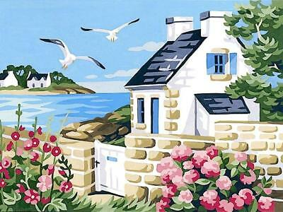 Royal Paris Tapestry Canvas – Cottage by the Sea