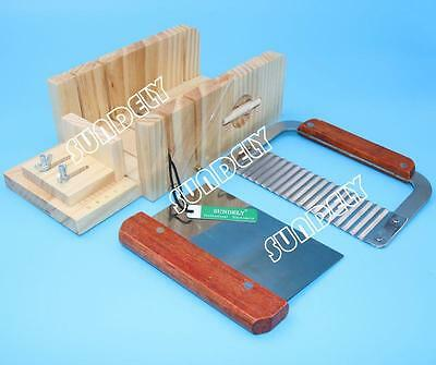SUNDELY Soap Mold Loaf Cutter Adjustable Wood & Beveler Planer Dish Box Cutting