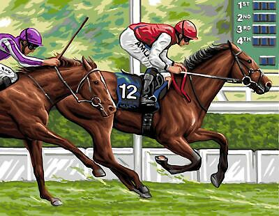Royal Paris Tapestry/Needlepoint Kit - The Horse Race