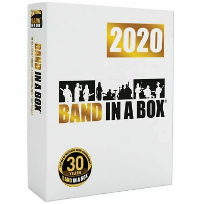 Band in a Box Pro 2018 Download Accompaniment Software PG Music Windows *New*