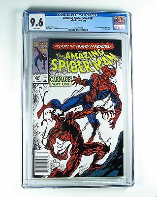Amazing Spider-Man 361 Marvel 1st Full Appearance of Carnage CGC 9.6