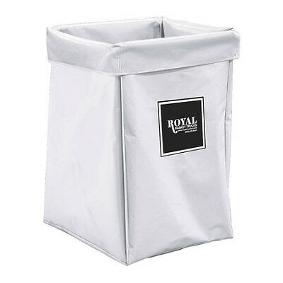 X-Frame Bag,6 Bushel,White Vinyl ROYAL BASKET TRUCK G06-WWX-XBN