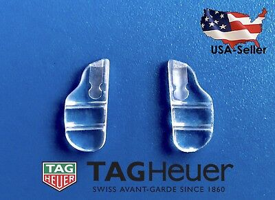 US Seller Authentic Tag Heuer Nose Pads Soft Silicone Plug In Eyeglasses Frames