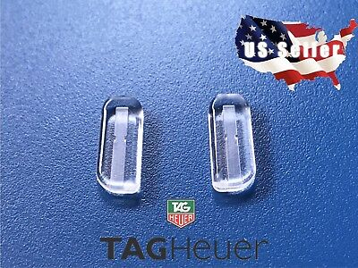 US Seller Tag Heuer Eye Glasses Authentic Semi-Soft Replacement Nose Pad Plug In