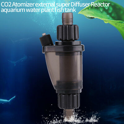 UP CO2 Atomizer external super Diffuser Reactor aquarium water plant fish tank